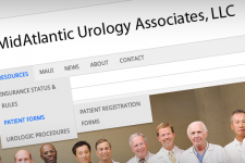 MidAtlantic Urology Associates, LLC Website - Slider